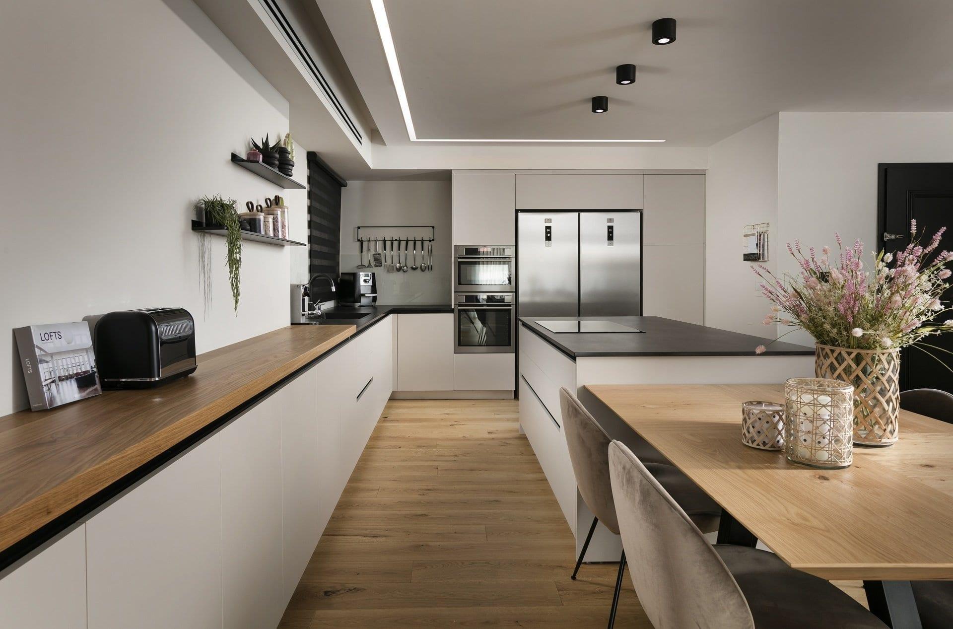 מטבח צבע קשמיר - Semel Kitchens